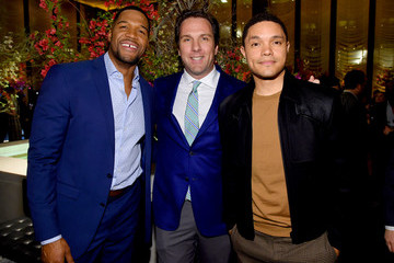 Michael Strahan The Hollywood Reporter's 9th Annual Most Powerful People In Media - Inside