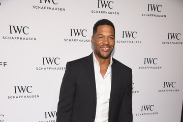 Michael Strahan IWC Schaffhausen Fourth Annual 'For the Love of Cinema' Gala During The Tribeca Film Festival 2016 - Arrivals