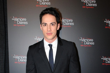 Michael Trevino The Vampire Diaries 100th Episode Celebration - Arrivals