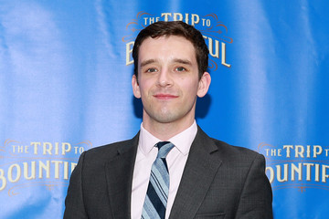 Michael Urie Arrivals at 'The Trip To Bountiful' Opening Night