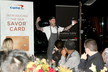Michael Voltaggio Mastercard Priceless Table: The Hollywood Roosevelt