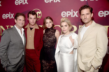 Michael Wright Los Angeles Premiere Of Epix's 'Pennyworth' - Red Carpet
