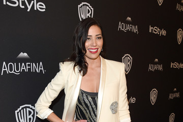 Michaela Conlin The 2016 InStyle and Warner Bros. 73rd Annual Golden Globe Awards Post-Party - Red Carpet