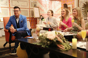 Wedding planner David Tutera (L) and guests attend the Michaels Weddings & David Tutera Royal Wedding watch party on May 19, 2018 in New York City.