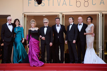 Micheal Caine 'La Tete Haute' Red Carpet - The 68th Annual Cannes Film Festival