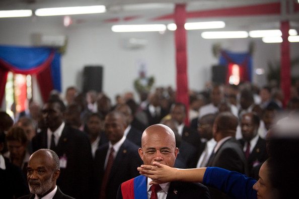 michel martelly president. Michel Martelly Inaugurated As