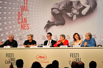 Michel Legrand Kerry Bishe 'Max Rose' Press Conference in Cannes