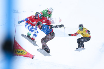 Michela Moioli FIS Freestyle Ski World Cup - Men's and Women's Snowboardcross