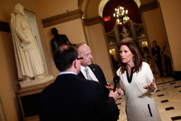Michele Bachmann Congressional Leaders Work to Meet Deadline