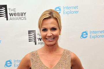 Michelle Beadle Backstage at the 17th Annual Webby Awards
