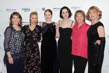 Michelle Dockery Penelope Wilton Arrivals at the Downton Abbey Childline Ball