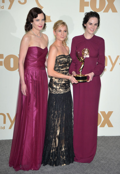Michelle Dockery - Press Room Shots from the Emmy Awards