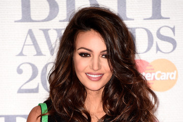 Michelle Keegan Arrivals at the BRIT Awards