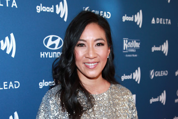 Michelle Kwan 30th Annual GLAAD Media Awards Los Angeles - Arrivals