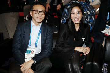 Michelle Kwan Alibaba Group Celebrates Opening of Olympic Showcase