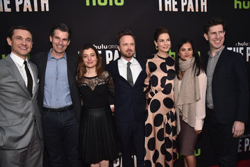 Michelle Monaghan Aaron Paul Premiere of Hulu's 'The Path' - Red Carpet