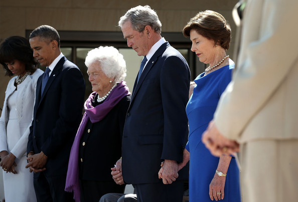 88c4b659ae2dc Michelle Obama Photos Photos - George W. Bush Library Dedication ...