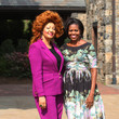 Chantal Biya Michelle Obama Hosts Farm-To-Table Lunch For Spouses Of World Leaders