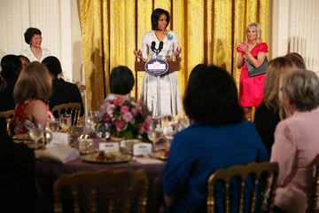 Patricia Shinseki Michelle Obama And Jill Biden Host Mother's Day Event For Military Families