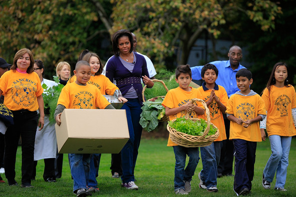 Michelle obama america 39 s most photographed 1st lady for America s second harvest