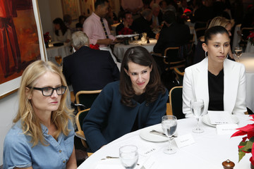 Michelle Ochs Robbie Myers, Editor-In-Chief, ELLE and Chelsea Handler Host ELLE Agenda Lunch At Michael's NYC
