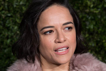 Michelle Rodriguez The Charles Finch & Chanel Pre-BAFTA's Dinner