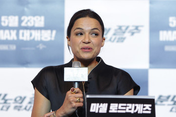 Michelle Rodriguez 'Fast & Furious 6' Press Conference in South Korea