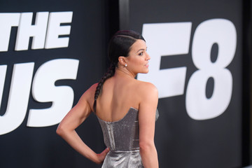 Michelle Rodriguez 'The Fate of the Furious' New York Premiere