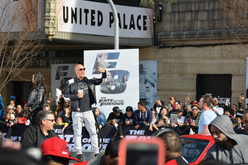Michelle Rodriguez Vin Diesel and Michelle Rodriguez Visit Washington Heights on Behalf of 'The Fate of the Furious'