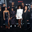 Michelle Sneed Netflix Premiere Tyler Perry's 'A Fall From Grace'