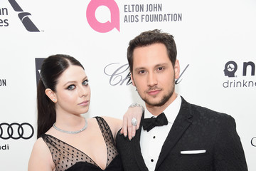 Michelle Trachtenberg Arrivals at the Elton John AIDS Foundation Oscars Viewing Party — Part 3