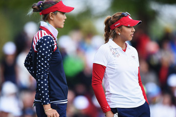 Michelle Wie The Solheim Cup - Day Two
