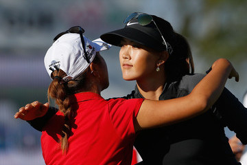 Michelle Wie Lydia Ko LPGA Founders Cup: Round 1
