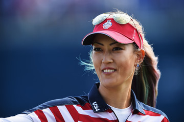 Michelle Wie The Solheim Cup - Day One