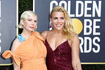 Michelle Williams Busy Philipps 77th Annual Golden Globe Awards - Social Ready Content