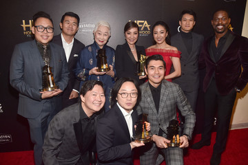 Michelle Yeoh Constance Wu 22nd Annual Hollywood Film Awards - Press Room