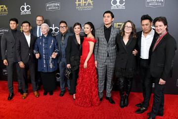Michelle Yeoh Henry Golding 22nd Annual Hollywood Film Awards - Arrivals