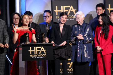 Michelle Yeoh Henry Golding 22nd Annual Hollywood Film Awards - Show