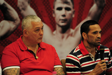 Mick Gatto Anthony Mundine Press Conference
