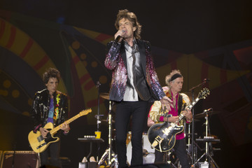 Mick Jagger US Entertainment Best Pictures Of The Day -February 03 2016