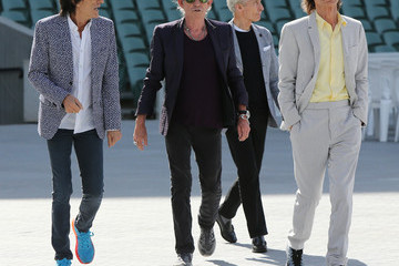 Mick Jagger Charlie Watts US Entertainment Best Pics of the Day