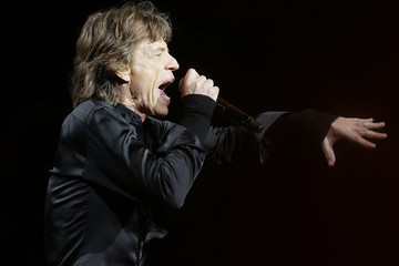 Mick Jagger The Rolling Stones Perform in Sydney