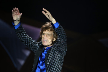Mick Jagger The Rolling Stones Perform Live In Auckland