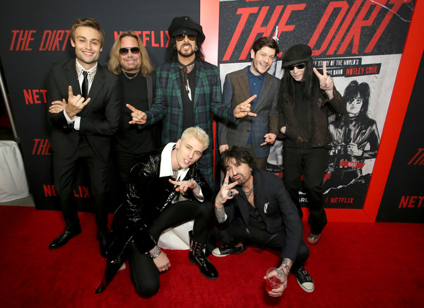 'The Dirt' World Premiere