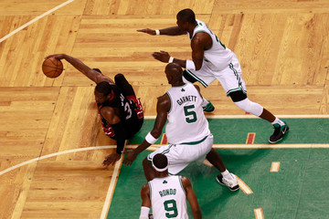 Mickael Pietrus Miami Heat v Boston Celtics - Game Four