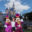 Mickey Mouse Actress Lea Michele Celebrates Halloween Time At Disneyland Resort