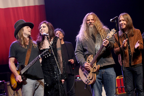 Willie Nelson Performs In Concert