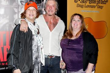 Mickey Rourke 'Eating Happiness' Presented by World Dog Alliance