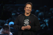 Phil Spencer, Executive President of Gaming at Microsoft, speaks during the Xbox E3 2019 Briefing at The Microsoft Theater on June 09, 2019 in Los Angeles, California.