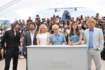 Woody Allen Michael Sheen Midnight In Paris Photocall - 64th Annual Cannes Film Festival